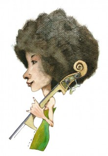 """Esperanza Spalding"" #2"