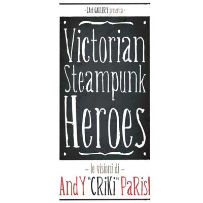 Victorian Steampunk Heroes