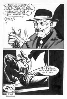 """Satanik #11 """"Il volto della verità"""" – Tavola 38"""